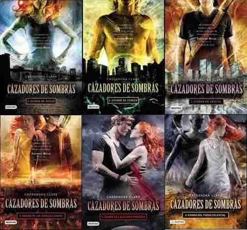 «Cazadores de sombras» portadas