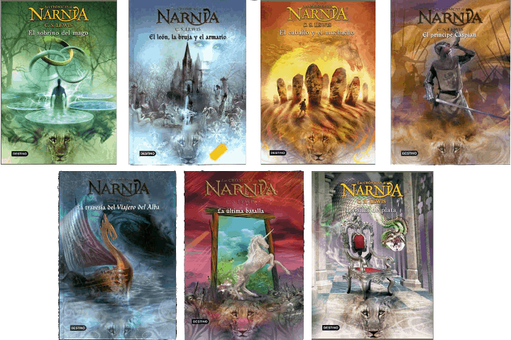 Las crónicas de Narnia portadas