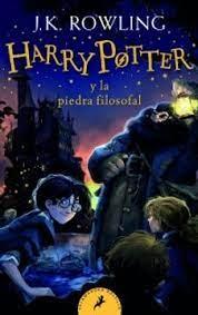 Harry Potter y la piedra filosofal portada