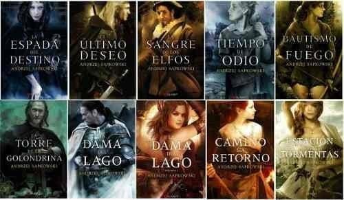 Saga de Geralt de Rivia portadas