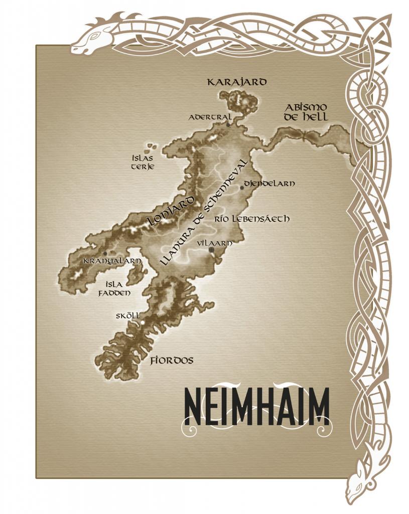 Mapa de «Neimhaim»