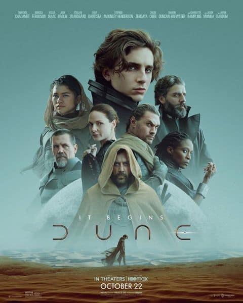 Cartel oficial pelicula dune